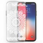 Henna Motiv Hülle für Apple iPhone X / XS Backcover Handy Case