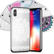 Henna Motiv Hülle für Apple iPhone XS Max Backcover Handy Case