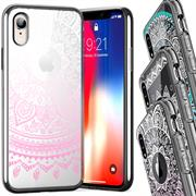 Henna Crystal Motiv Hülle für Apple iPhone XR Backcover Handy Case