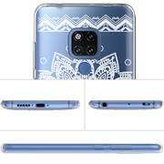 Henna Motiv Hülle für Huawei Mate 20 Backcover Handy Schutz Case