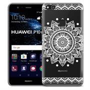 Henna Crystal Case für Huawei P10 Lite Hülle Silikonhülle Mandala Motiv Design
