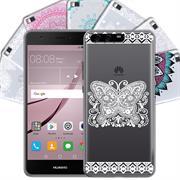 Henna Crystal Motiv Hülle für Huawei P10 Backcover Handy Schutz Case