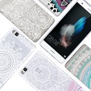 Henna Motiv Hülle für Huawei P8 Lite 2017 Backcover Handy Case