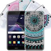 Henna Crystal Case für Huawei P8 Lite 2017 Hülle Silikonhülle Mandala Motiv Design