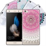 Henna Crystal Case für Huawei P8 Lite Hülle Silikonhülle Mandala Motiv Design