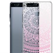 Henna Crystal Case für Huawei P9 Hülle Silikonhülle Mandala Motiv Design