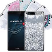 Henna Crystal Motiv Hülle für Huawei P9 Backcover Handy Schutz Case