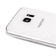 Henna Crystal Case für Samsung Galaxy A3 Hülle Silikonhülle Mandala Motiv Design