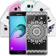 Henna Crystal Case für Samsung Galaxy A5 2016 Hülle Silikonhülle Mandala Motiv Design