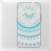 Henna Motiv Hülle für Samsung Galaxy J1 2016 Backcover Handy Case