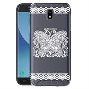 Henna Crystal Case für Samsung Galaxy J3 2017 J330 Hülle Silikonhülle Mandala Motiv Design