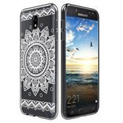 Henna Crystal Case für Samsung Galaxy J7 2017 J730 Hülle Silikonhülle Mandala Motiv Design