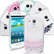 Henna Motiv Hülle für Samsung Galaxy S3 Mini Backcover Handy Case
