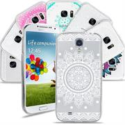 Henna Crystal Motiv Hülle für Samsung Galaxy S4 Backcover Handy Case