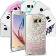 Henna Motiv Hülle für Samsung Galaxy S6 Edge Backcover Handy Case