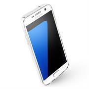 Henna Crystal Case für Samsung Galaxy S7 Hülle Silikonhülle Mandala Motiv Design