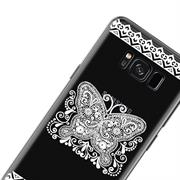 Henna Motiv Hülle für Samsung Galaxy S8 Plus Backcover Handy Case