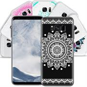 Henna Crystal Motiv Hülle für Samsung Galaxy S8 Backcover Handy Case