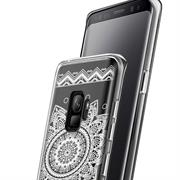 Henna Motiv Hülle für Samsung Galaxy S9 Plus Backcover Handy Case