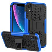 Outdoor Hülle für Apple iPhone XR Case Hybrid Armor Cover robuste Schutzhülle