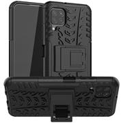 Outdoor Hülle für Samsung Galaxy A12 / M12 Case Hybrid Armor Cover robuste Schutzhülle