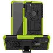Outdoor Hülle für Samsung Galaxy A21s Case Hybrid Armor Cover robuste Schutzhülle