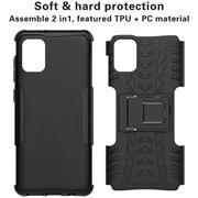 Outdoor Hülle für Samsung Galaxy A31 Case Hybrid Armor Cover robuste Schutzhülle