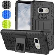 Outdoor Hülle für Samsung Galaxy A3 2017 Case Hybrid Armor Cover robuste Schutzhülle