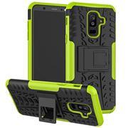 Outdoor Hülle für Samsung Galaxy A6 Case Hybrid Armor Cover robuste Schutzhülle