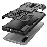 Outdoor Hülle für Samsung Galaxy A70 Case Hybrid Armor Cover robuste Schutzhülle