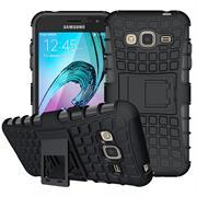 Outdoor Case für Samsung Galaxy J1 Hülle extrem robuste Schutzhülle Back Cover