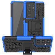 Outdoor Hülle für Samsung Galaxy S21 Ultra Case Hybrid Armor Cover robuste Schutzhülle