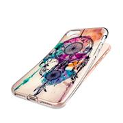 Apple iPhone 8 Handy Hülle transparent Cover mit stylischem Motiv Silikon Case Schutzhülle