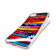 Apple iPhone 5C Handy Hülle transparent Cover mit stylischem Motiv Silikon Case Schutzhülle