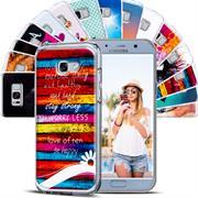 Motiv Hülle für Samsung Galaxy A5 2017 buntes Handy Schutz Case