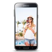 Motiv Hülle für Samsung Galaxy S4 Mini buntes Handy Schutz Case