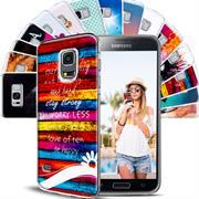 Motiv Hülle für Samsung Galaxy S5 / S5 Neo buntes Handy Schutz Case
