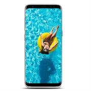 Samsung Galaxy S8 Plus Handy Hülle transparent Cover mit stylischem Motiv Silikon Case Schutzhülle
