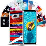 Motiv Hülle für Samsung Galaxy S8 buntes Silikon Handy Schutz Case