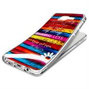 Sony Xperia Z5 Handy Hülle transparent Cover mit stylischem Motiv Silikon Case Schutzhülle