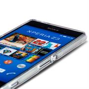 Sony Xperia Z Handy Hülle transparent Cover mit stylischem Motiv Silikon Case Schutzhülle