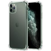 Anti Shock Hülle für Apple iPhone 11 Pro Max Schutzhülle mit verstärkten Ecken Transparent Case