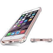 Anti Shock Hülle für Apple iPhone 6 / 6s Schutzhülle mit verstärkten Ecken Transparent Case
