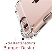 Anti Shock Hülle für Apple iPhone 6 Plus / 6s Plus Schutzhülle mit verstärkten Ecken Transparent Case