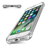 Anti Shock Hülle für Apple iPhone 7 / 8 Schutzhülle mit verstärkten Ecken Transparent Case