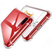 Anti Shock Hülle für Apple iPhone 7 Plus / 8 Plus Schutzhülle mit verstärkten Ecken Transparent Case