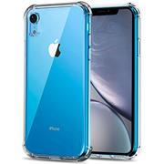 Anti Shock Hülle für Apple iPhone XR Schutzhülle mit verstärkten Ecken Transparent Case