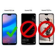 Rugged Schutzhülle für Huawei P20 Lite Hülle Kantenschutz Case