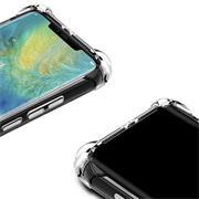 Anti Shock Hülle für Huawei Mate 10 Pro Schutzhülle mit verstärkten Ecken Transparent Case