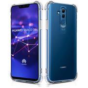 Anti Shock Hülle für Huawei Mate 20 Lite Schutzhülle mit verstärkten Ecken Transparent Case